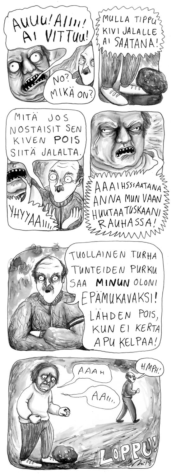 Kivijalalla