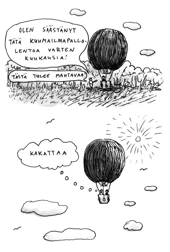 kuumailmapalloilua